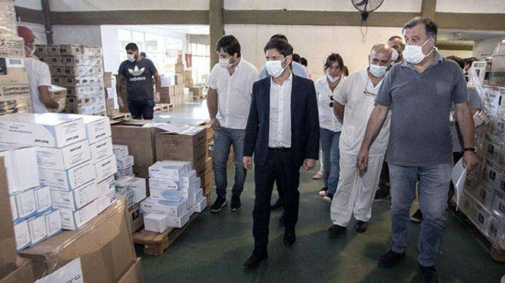 Por el coronavirus, Kicillof busca sumar más de cuatro mil médicos, psicólogos y trabajadores sociales