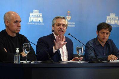 Alberto Fernández encabeza una cumbre con la Ciudad y la provincia de Buenos Aires
