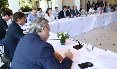 Ishii, Méndez y Nardini se reunieron con Fernández y Kiciloff en Olivos