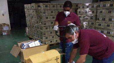 Nuevos respiradores para el Cepan Co-19, en José C. Paz