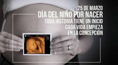 ¡Hoy es 25 de marzo, Día del Niño por Nacer!