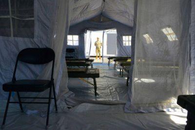 San Luis prevé montar hospitales de campaña y asistir a familias en aislamiento