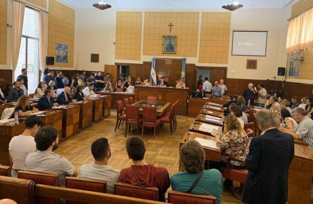 El Ejecutivo y dos pedidos de ordenanzas al Concejo