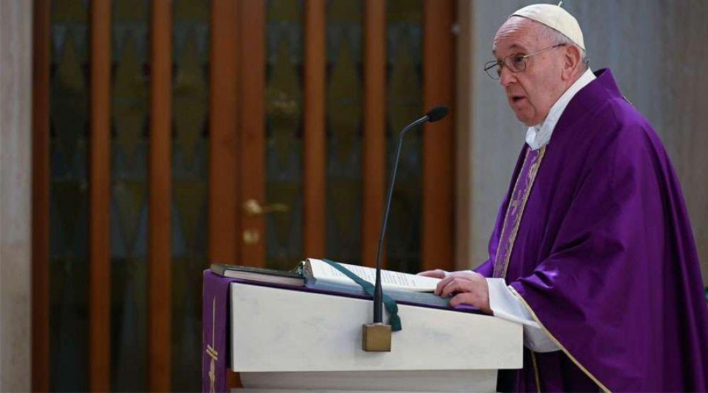 El Papa Francisco alerta sobre la idolatría en el corazón