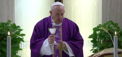 Covid-19, huésped infectado en Santa Marta: ¿Nuevo test para el Papa Francisco?