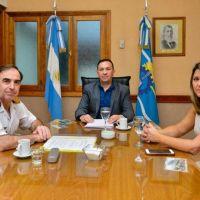 Coronavirus: Maderna se reunió con el jefe de la fuerza aeronaval