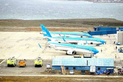 Ushuaia sin vuelos