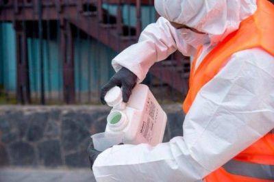 Desinfección de puntos estratégicos en Ushuaia
