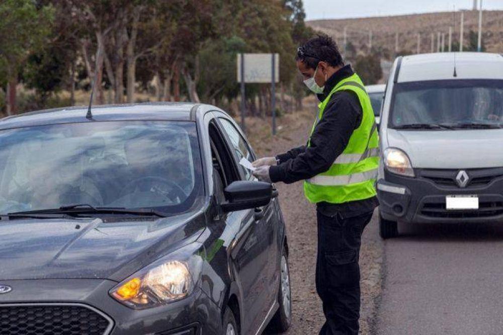 Fuertes multas para desalentar la circulación vehicular