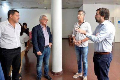 Julio Zamora y Nicolás Kreplak recorrieron el Hospital Provincial de Pacheco junto a sus nuevas autoridades