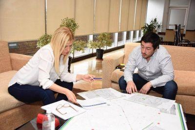 Magario se reunió con Nardini en Malvinas Argentinas para planificar acciones en conjunto