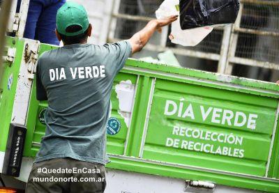 Vicente López: servicios de recolección y día verde
