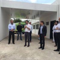 Achával y Kicillof inauguraron el primer centro de diagnóstico de coronavirus de Pilar