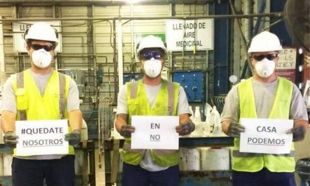 Sindicato de Químicos estableció un protocolo para los trabajadores del sector