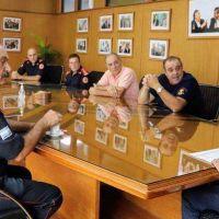 Avellaneda: Los Bomberos Voluntarios se suman al trabajo de atención y prevención del Coronavirus
