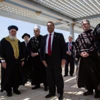 Jerusalén: Jefes de diversos credos rezaron juntos por la pandemia