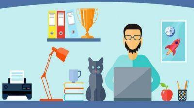 Trabajo en cuarentena: 42% de la gente le dedica más tiempo