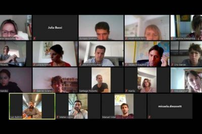 Luis Bullrich explicó: reunión virtual con legisladores de la Comisión de Educación