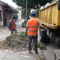 Servicios esenciales de limpieza urbana