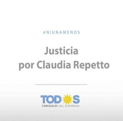 """Claudia Repetto: """"Pedimos se revea el accionar del Poder Judicial y la Policía"""""""
