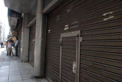 Preocupante: 70% de los comercios bajaron las persianas por la cuarentena
