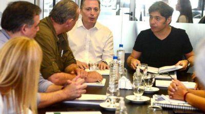 Fernando Gray se reunión con Axel Kicillof y Sergio Berni