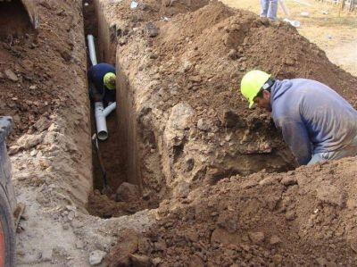 La Provincia reanuda obras de agua y cloacas para generar empleo durante la cuarentena
