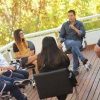 Cristian Cardozo se reunió con inspectores de comercios