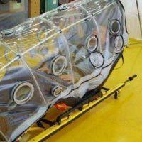 Coronavirus: un grupo de bahienses diseñó una unidad de traslado especial