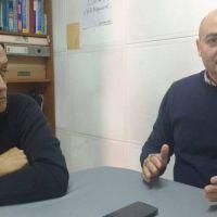 Reyes y Blanco explicaron por LA DORREGO cómo se pueden hacer donaciones de dinero para el Hospital Municipal de nuestra ciudad