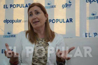 Liliana Schwindt cuestionó la higiene de los cajeros automáticos y pidió