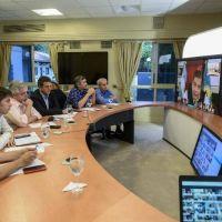 Coronavirus: El Presidente mantuvo una videoconferencia con intendentes bonaerenses