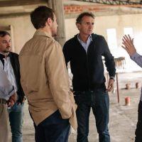 Achával y Katopodis recorrieron obras en Pilar y acordaron inversiones