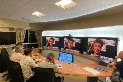 Jorge Macri destacó la videoconferencia que mantuvo con Alberto Fernández