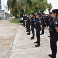 Llegaron 50 nuevos efectivos policiales para garantizar el cumplimiento de la cuarentena
