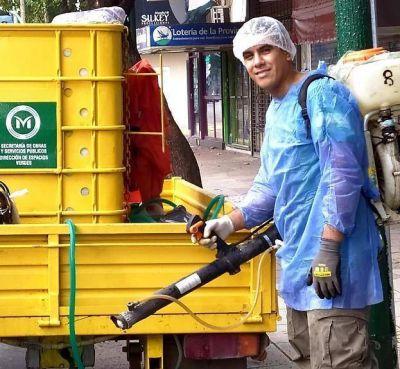 Limpieza y desinfección urbana