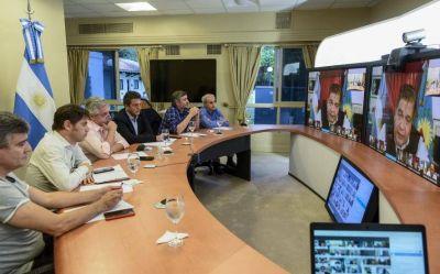 Los intendentes le plantearon a Alberto Fernández su preocupación por la pérdida de recursos