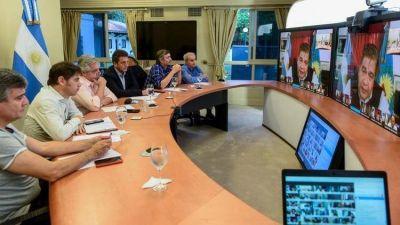 """Alberto Fernández recibe el mismo mensaje de oficialistas y opositores: más temor por la """"coronacrisis"""""""