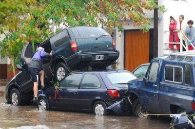 Legisladores de Juntos por el Cambio recordaron la inundación en La Plata de 2013