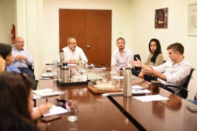 Valenzuela encabezó la Mesa de Coordinación por el coronavirus