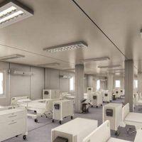 Hospital Modular de Moreno: se espera que en tres semanas esté terminado