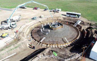 Despiden a 200 trabajadores de la UOCRA que construyen el Parque Eólico en Miramar