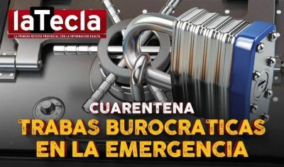 Trabas burocráticas en la emergencia