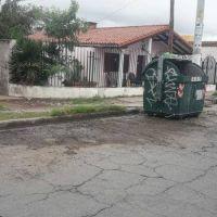 Problema solucionado: retiraron basura acumulada en avenida Colón
