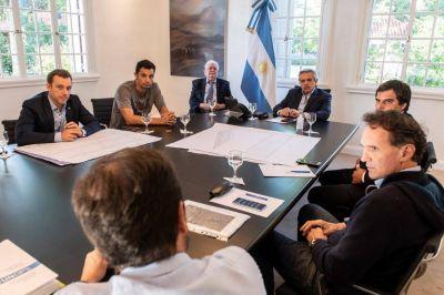 Mauro García se reunió con Alberto Fernández y Ginés González García