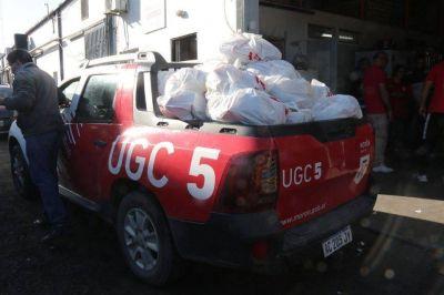 El Municipio de Morón entregó a domicilio más de 1500 canastas de alimentos