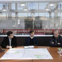 Kicillof, Berni y Ghi analizaron las medidas adoptadas contra el Coronavirus en Morón