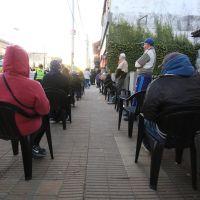 El municipio asiste a jubilados en entidades bancarias
