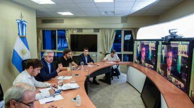 Alberto Fernández habló del reclamo de rebaja de salarios