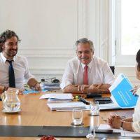 Alberto Fernández reúne al gabinete económico en Olivos